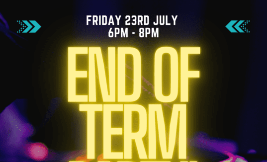 End of term bounce party!