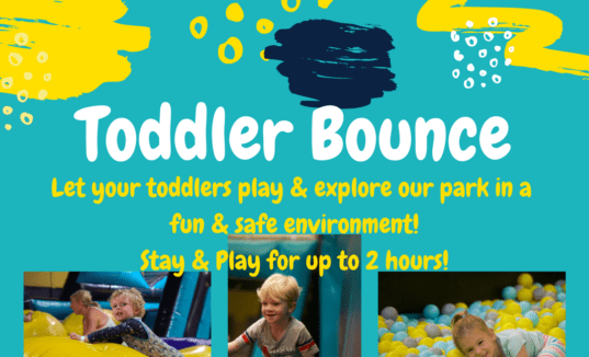 Want to bounce with a little one?