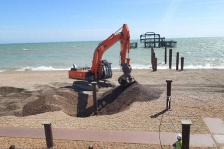 Brighton West Pier Dorton Reclamation Yard Sussex
