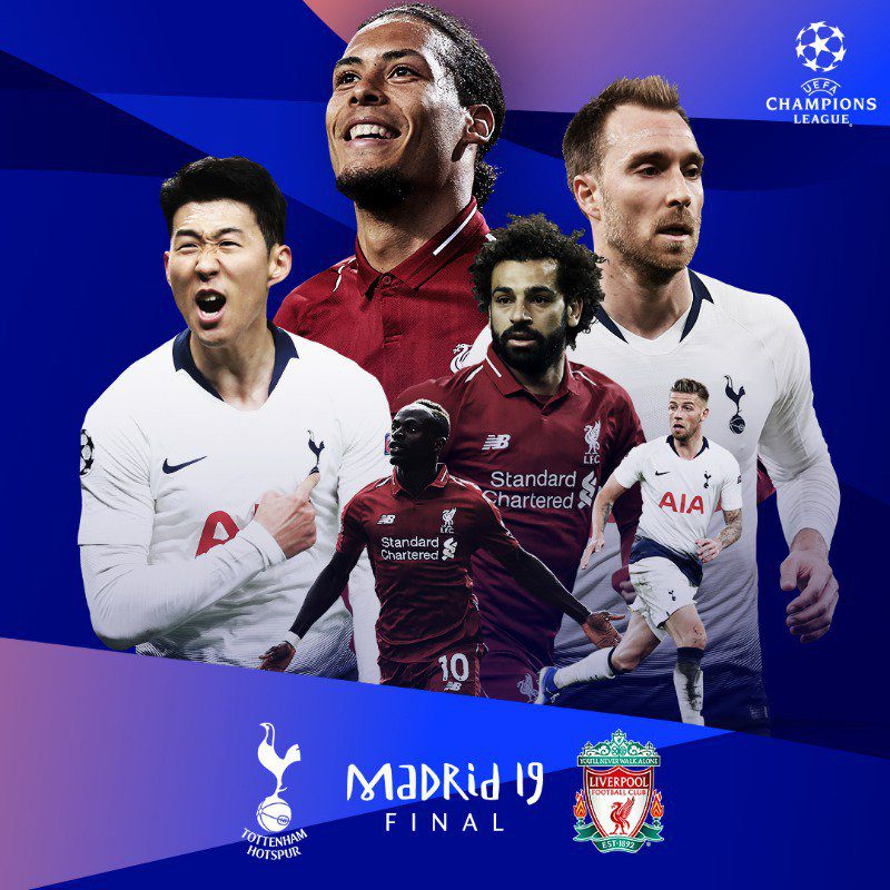 Picture credit: UEFA champions league football